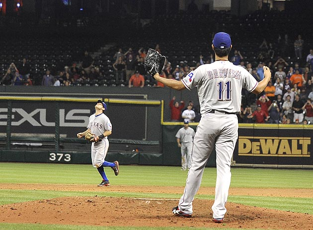 Yu almost perfect: Astros break up Darvish gem with two outs in…