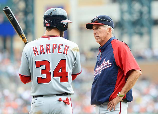 Nationals manager Davey Johnson was unaware and 'disturbed' tha…