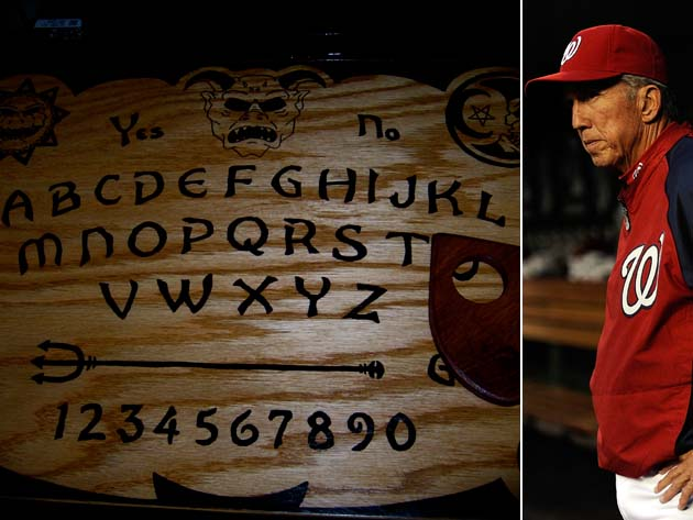 Ouija board: Nationals manager Davey Johnson resorts to dark fo…