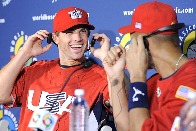 U.S. WBC roster includes MVPs Ryan Braun, Jimmy Rollins Joe Mau…