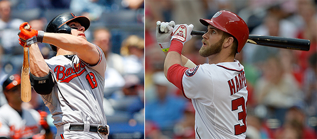 Chris Davis, Bryce Harper among sluggers picked for Home Run De…
