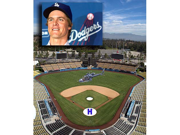 Zack Greinke says he considered taking helicopter to Dodger Sta…