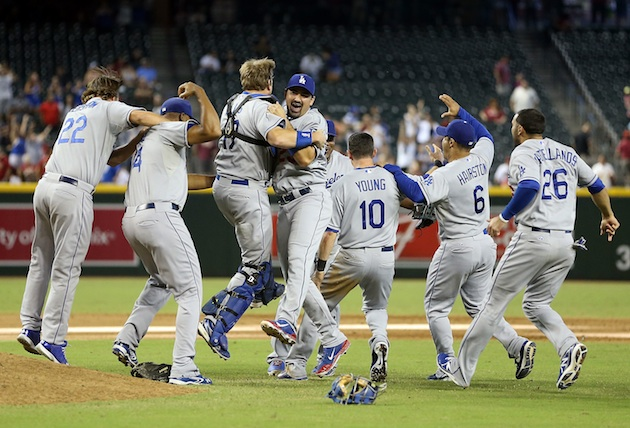 Dodgers clinch NL West, complete worst-to-first turnaround