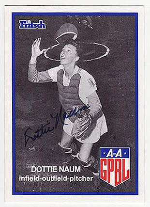 Dottie Naum Parker: Another inspiration for 'A League of Their …