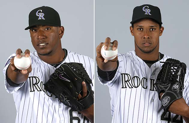 Colorado Rockies teammates fight in front of fans: Edgmer Escal…