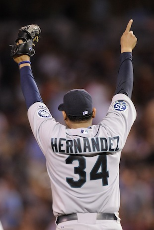 Report: Felix Hernandez gets $175 million extension with Marine…