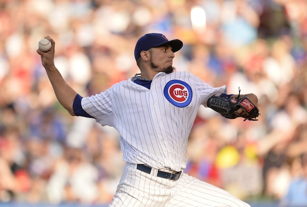 Reports: Matt Garza traded to Texas Rangers in three-player dea…