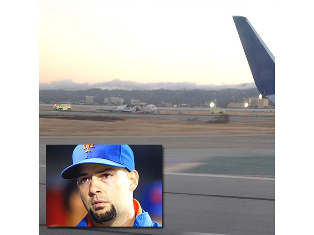 Dillon Gee tweets photo of Asiana flight 214 wreckage from Mets…