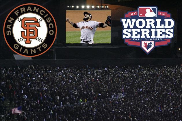 Victory Speech! 2012 San Francisco Giants