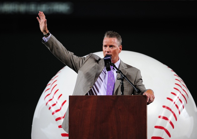 Tom Glavine is still No. 2 to Greg Maddux, but he's a worthy Ha…