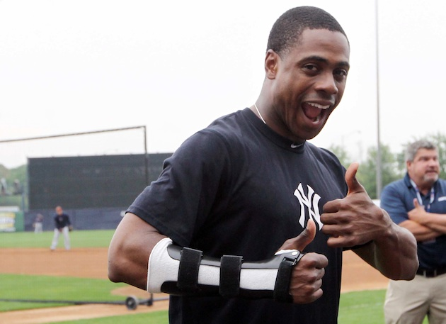 Curtis Granderson returns to the lineup of surprisingly first-p…