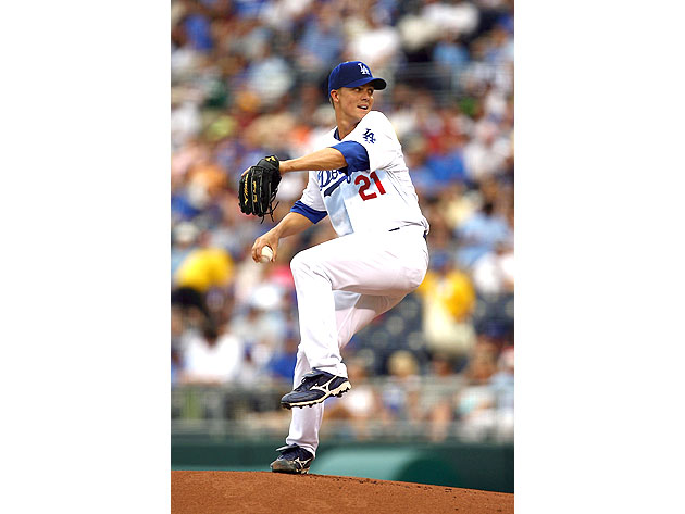 Dodgers publish Zack Greinke photo from future