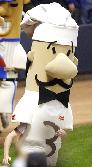 Missing link found: Milwaukee Brewers Racing Italian Sausage co…