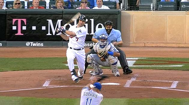 Twins take Target practice on Jeremy Guthrie