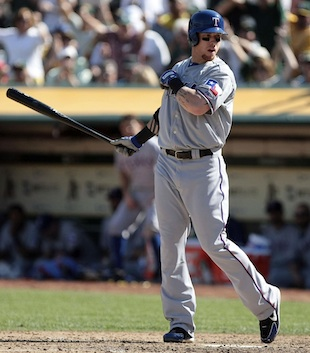 Josh Hamilton's error looms large as Rangers watch A's celebrat…