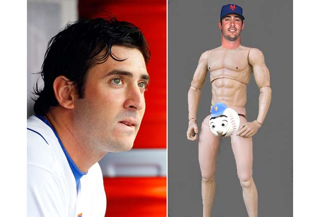Nude Matt Harvey to flaunt curves in ESPN Magazine's 'Body' iss…