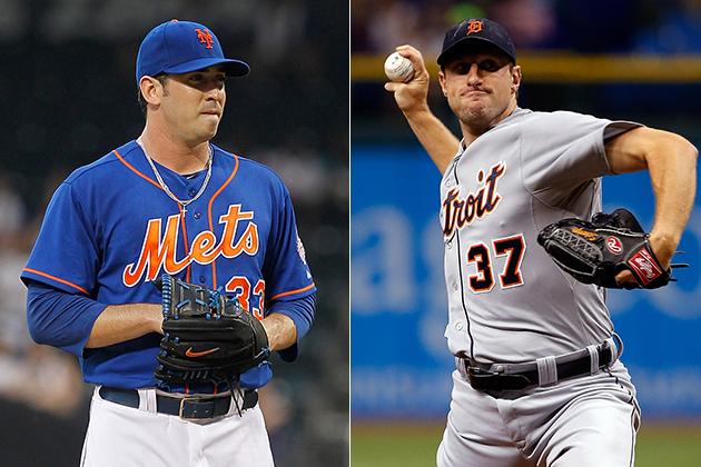 Matt Harvey and Max Scherzer will start Tuesday night's All-Sta…
