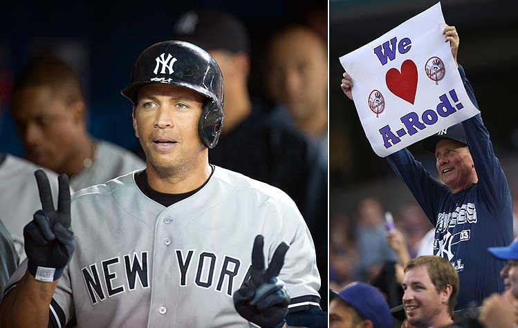 Photographic proof that somebody loves A-Rod