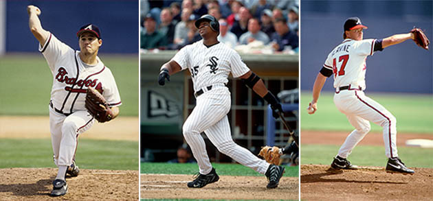 Greg Maddux, Frank Thomas, Tom Glavine among first timers on 20…
