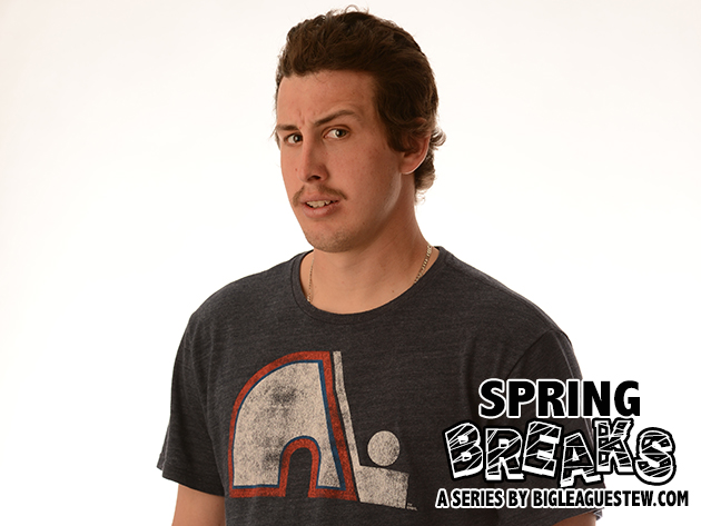 Spring Breaks: Derek Holland talks milkshakes, 'Workaholics,