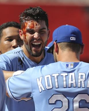 Kansas City Royals take victory celebrations to a sticky new pl…