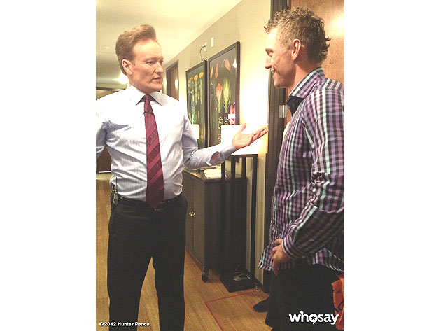 Hunter Pence shaves for Conan O'Brien, talks World Series and K…