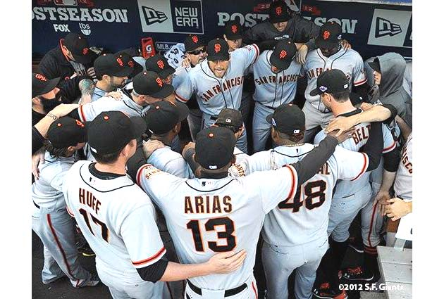 Speech, speech! Hunter Pence gets rah-rah, rallies Giants for N…