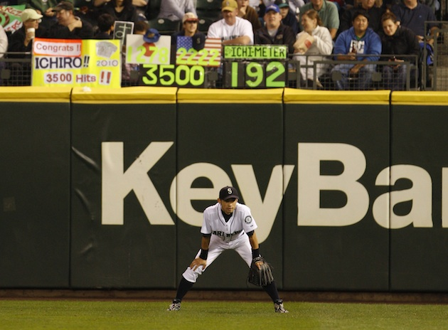 Ichiro surprises keeper of 'Ichimeter' with special thank-you p…