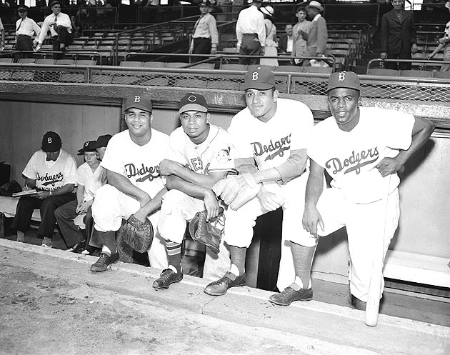 Jackie Robinson broke the modern color line 66 years ago