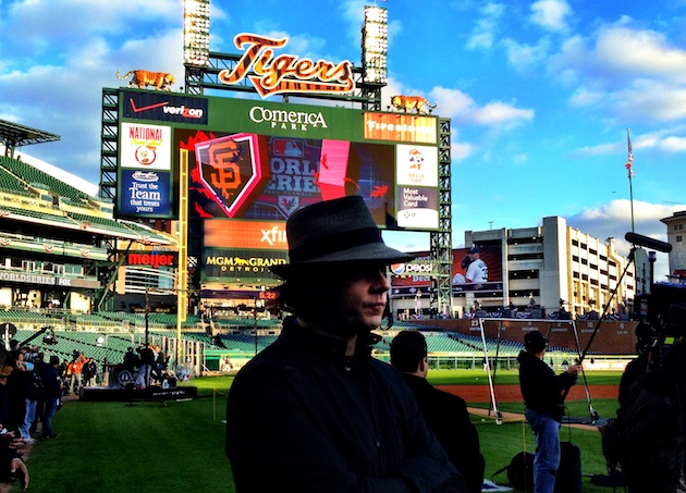Jack White makes World Series appearance
