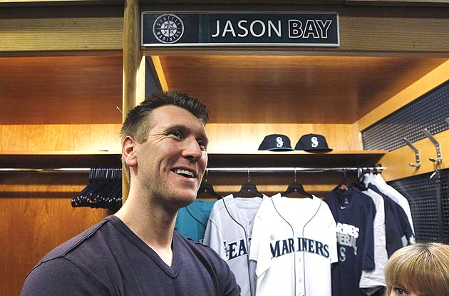 Jason Bay hitting leadoff for Seattle Mariners - maybe