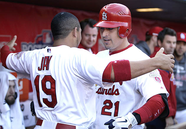 NLDS Game 2: Cardinals offense awakens, St. Louis evens series …