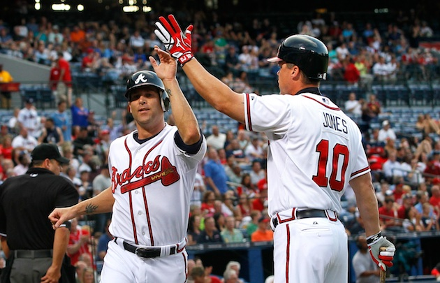 Chipper Jones takes a shot at the Braves and Tim Hudson on Twit…