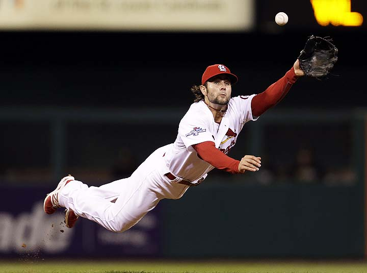 Cardinals' Pete Kozma comes through again with season on line