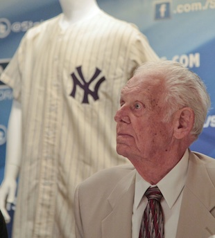 Don Larsen's perfect game jersey sells for $756K