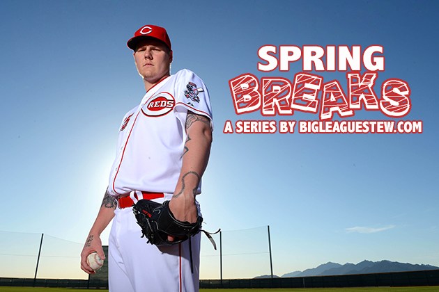 Spring Breaks: Mat Latos chats about 'Big Bang Theory,' not goi…