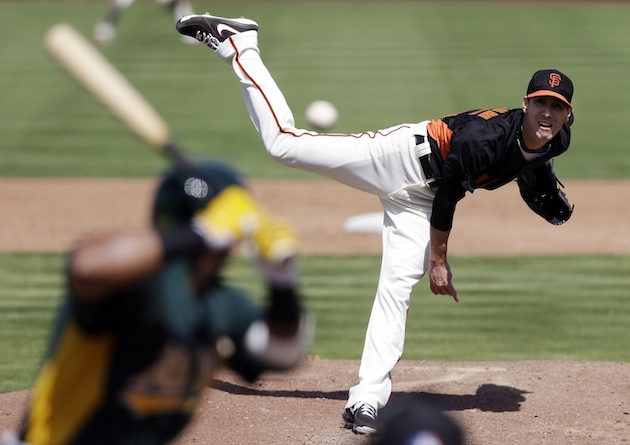 Tim Lincecum's struggles continue as his spring ERA creeps into…