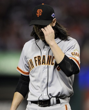 Giants announce World Series rotation and Tim Lincecum is not i…