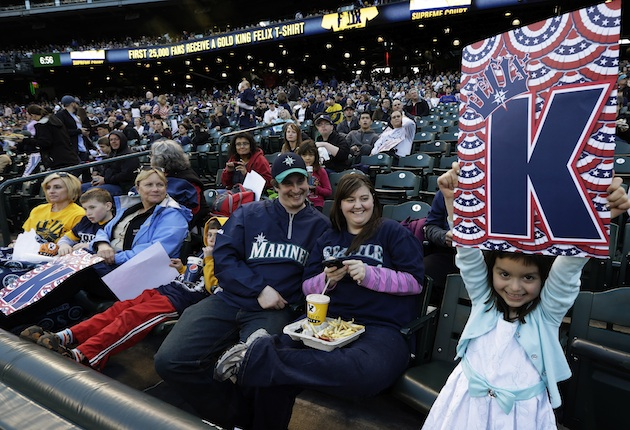 Attendance at the Seattle Mariners watch-party was higher than …