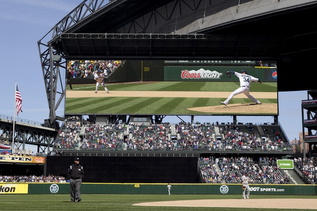 Seattle's new $10 million scoreboard will be the biggest in bas…
