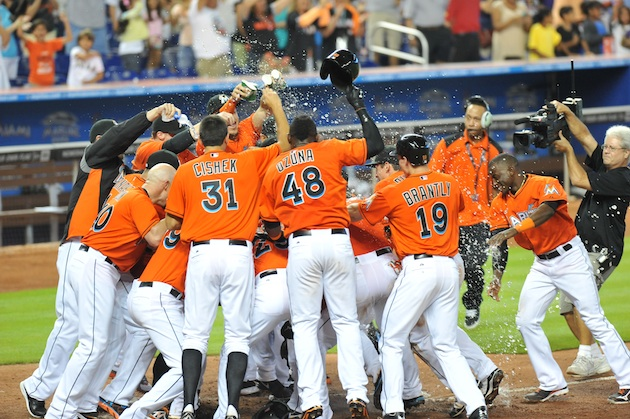 The Miami Marlins were baseball's third best team in June — and…