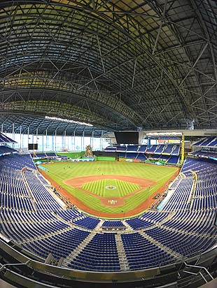 Miami Marlins closing upper deck of mostly empty new stadium fo…