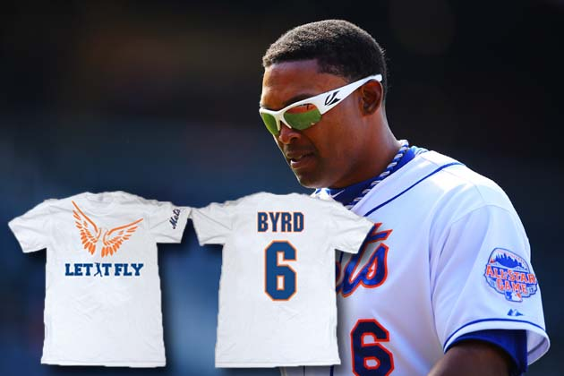 Mets trade Marlon Byrd on Marlon Byrd T-shirt night