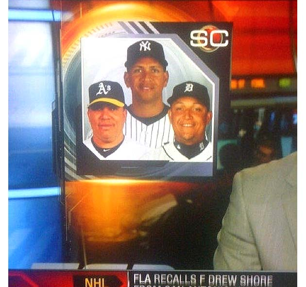 Canada sports TV confuses Melky Cabrera for Miguel Cabrera in P…