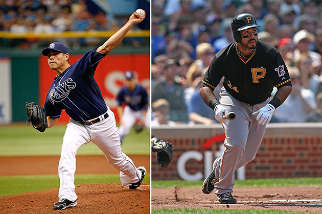 Matt Moore replaces Yu Davish on AL All-Star team; Pedro Alvare…
