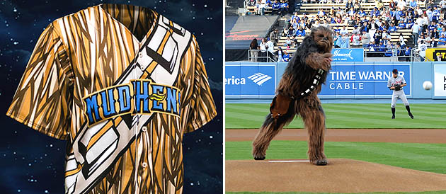 Wookiee mistake: Toledo Mud Hens to wear Chewbacca of 'Star War…