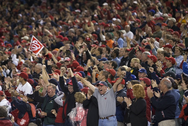 Nationals Park goes wild as Atlanta loss clinches NL East for W…