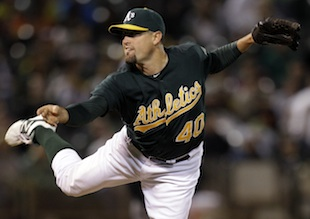 Neshek joins A's for ALDS following tragedy
