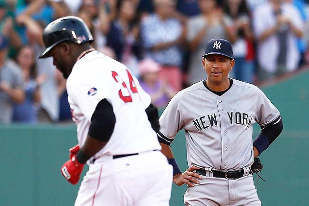 David Ortiz defends A-Rod and says Ryan Dempster plunking him '…