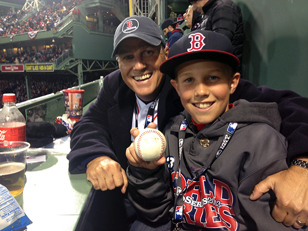 Meet the kid who grabbed David Ortiz's homer — and made a great…
